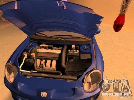 Dodge Neon SRT4 2006 para GTA San Andreas vista direita