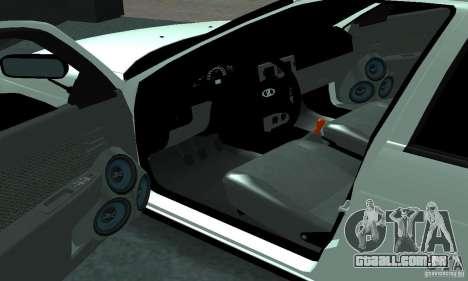 Lada Priora Sport para GTA San Andreas vista direita