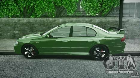 Ford Falcon XR8 2007 Rim 1 para GTA 4 vista interior