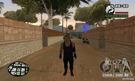 O coveiro da Smackdown 2 para GTA San Andreas terceira tela
