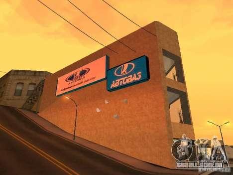 Auto VAZ para GTA San Andreas segunda tela