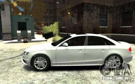 Audi S4 2010 v.1.0 para GTA 4 esquerda vista