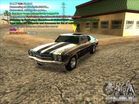 Série ENB para placa de vídeo fraca para GTA San Andreas sexta tela