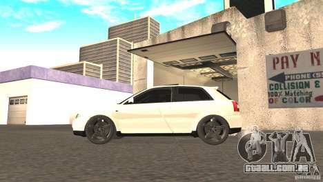 Audi A3 1.8T 180cv para GTA San Andreas vista direita