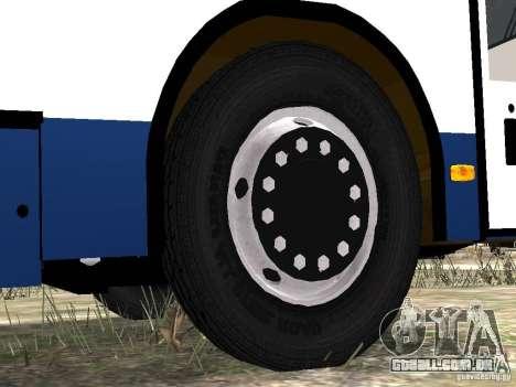 Nefaz-5299 10-15 para GTA 4 rodas