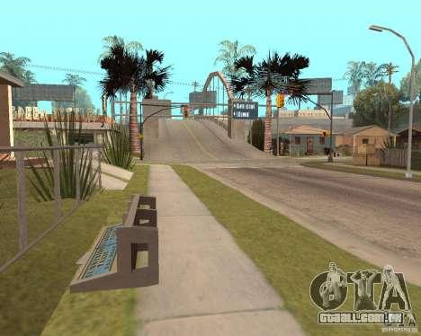 Remapping Ghetto v.1.0 para GTA San Andreas quinto tela