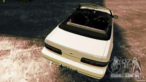Nissan Silvia S13 Cabrio para GTA 4 vista interior