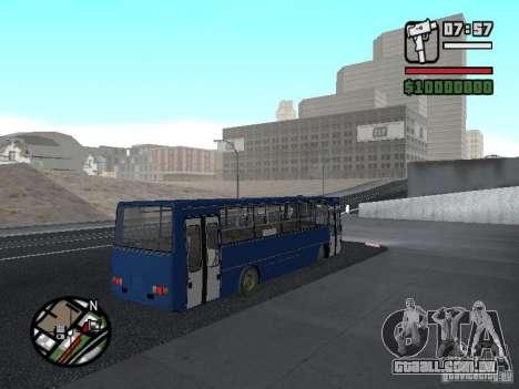 Ikarus 260.51 para GTA San Andreas vista direita