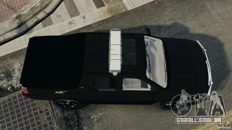 Chevrolet Avalanche 2007 [ELS] para GTA 4 vista direita