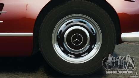 Mercedes-Benz 300 SL Roadster v1.0 para GTA 4 vista inferior
