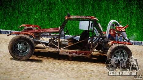 Buggy Avenger v1.2 para GTA 4 esquerda vista