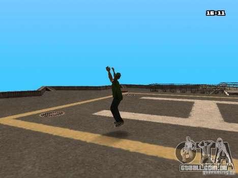Parkour Mod para GTA San Andreas segunda tela
