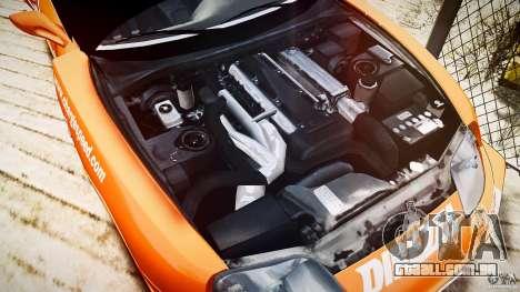 Toyota Supra MK4 Tunable v1.0 para GTA 4 vista de volta