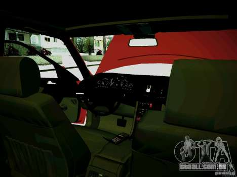 Mercedes-Benz S-Class W140 para vista lateral GTA San Andreas