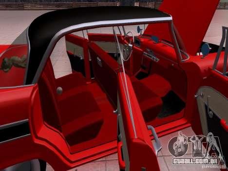 Plymouth Belvedere Sport Sedan 1957 para GTA San Andreas vista superior