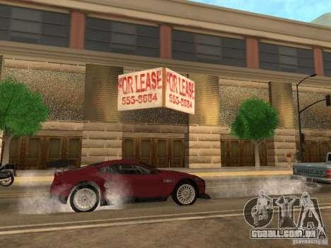 Novo centro comercial de texturas para GTA San Andreas sexta tela