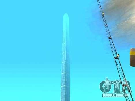 Arranha-céus em Los Santos para GTA San Andreas por diante tela