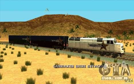 Desenganchados de vagões para GTA San Andreas