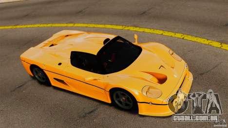 Ferrari F50 GT 1996 para GTA 4 vista direita