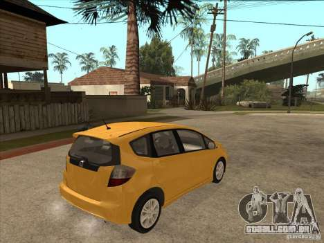 Honda Jazz (Fit) para GTA San Andreas vista direita