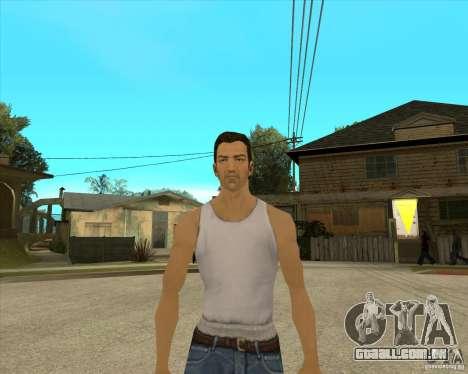 Pele Tommy Vercetti v1 FINAL para GTA San Andreas