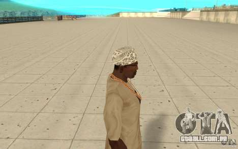 Bandana hellrider para GTA San Andreas segunda tela