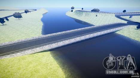 Top Gear Map para GTA 4 quinto tela