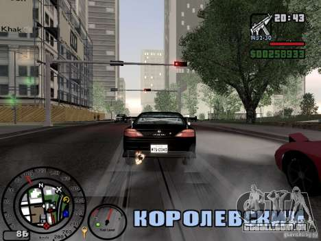 Fogo dos escapamentos v 2.0 para GTA San Andreas segunda tela