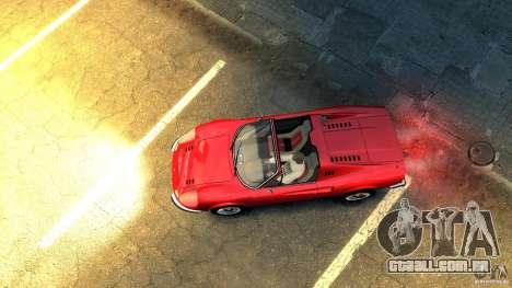 Ferrari Dino 246 GTS para GTA 4 vista de volta