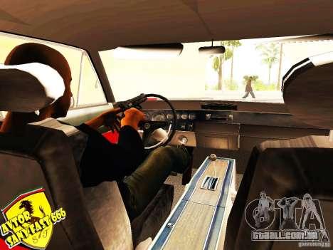 Dodge Charger Daytona Arman 6 para GTA San Andreas traseira esquerda vista