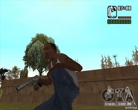 Revólver para GTA San Andreas segunda tela