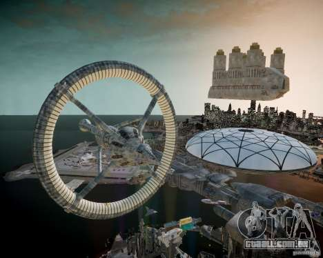 Stargate Atlantis para GTA 4 sétima tela