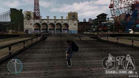 Skate # 2 para GTA 4 vista de volta