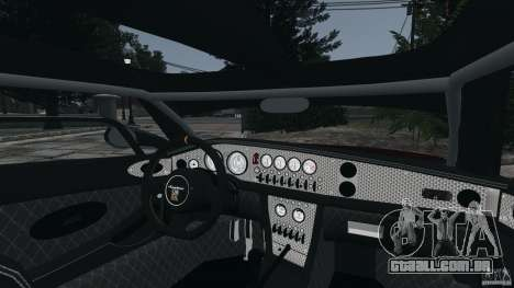 Spyker C8 Laviolette LM85 para GTA 4 vista lateral