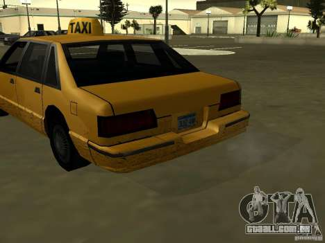 Textura realista do carro original para GTA San Andreas terceira tela