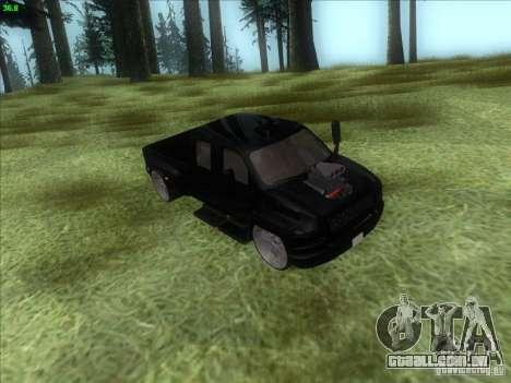 GMC C4500 Pickup DUB Style para vista lateral GTA San Andreas