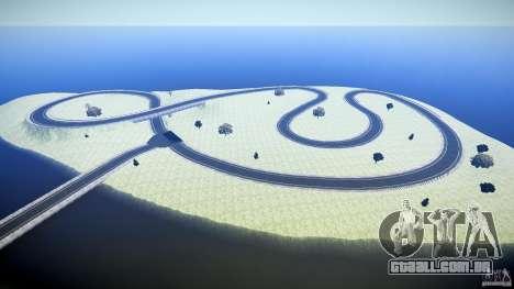 Top Gear Map para GTA 4 por diante tela
