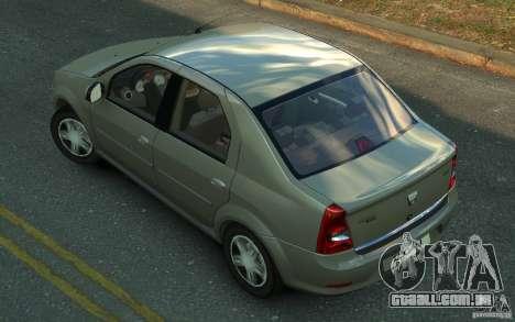Dacia Logan 2008 para GTA 4 esquerda vista