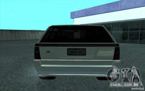 Huntley do GTA 4 para GTA San Andreas traseira esquerda vista