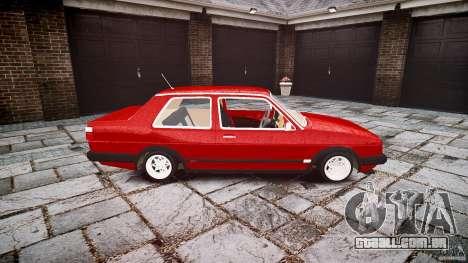 Volkswagen Jetta MKII VR6 para GTA 4 vista interior