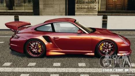 Porsche 997 GT2 Body Kit 1 para GTA 4 esquerda vista