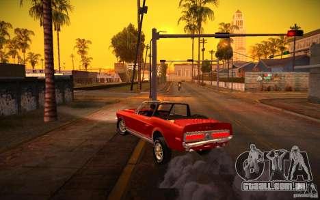 ENBSeries v. 1.0 por GAZelist para GTA San Andreas oitavo tela