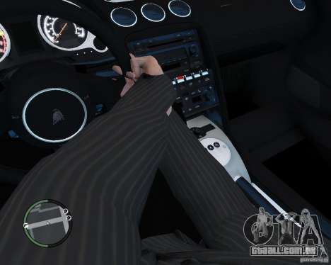 Lamborghini Gallardo 2005 para GTA 4 vista de volta