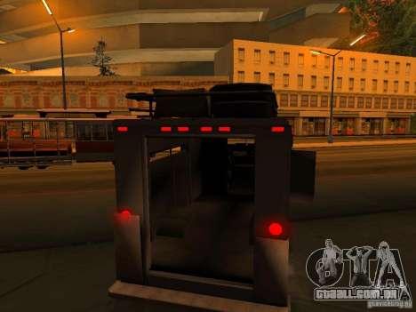 Monster Van para as rodas de GTA San Andreas