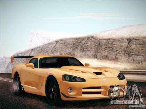 Dodge Viper SRT-10 ACR para GTA San Andreas vista direita