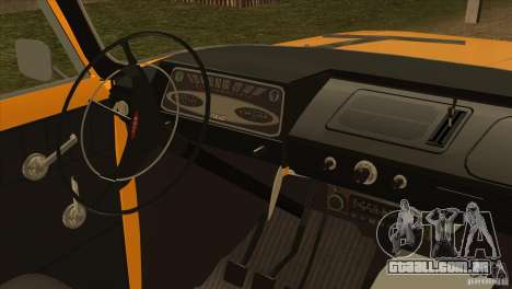 Moskvich 412 v 2.0 para GTA San Andreas vista traseira