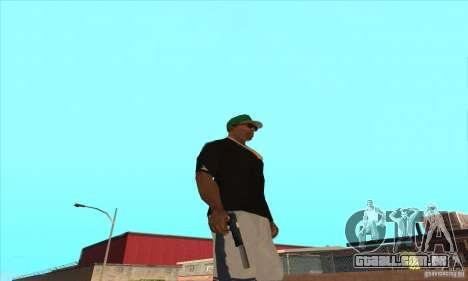 WEAPON BY SWORD para GTA San Andreas sexta tela