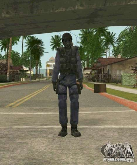 Counter-terrorist para GTA San Andreas nono tela