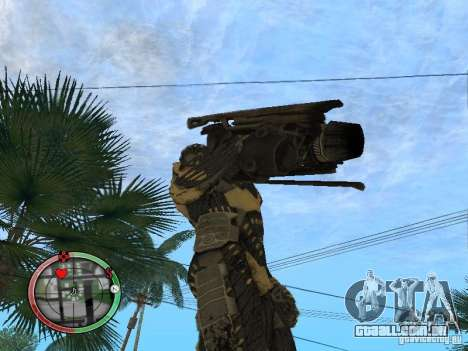 Armas alienígenas de Crysis 2 v2 para GTA San Andreas