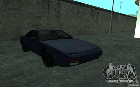 Nissan Onevia (Silvia) S13 para GTA San Andreas vista traseira